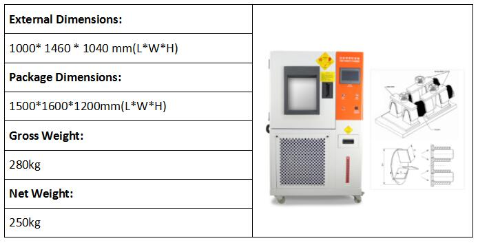 Hydrolisis & Water Vapor Permeability Tester