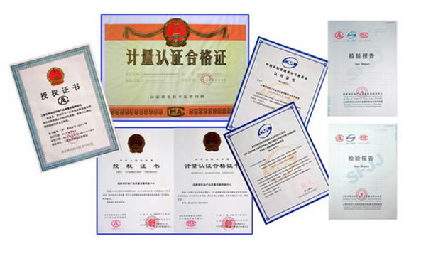 gester Other Certificates