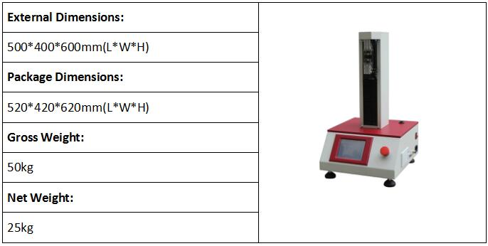 Electronic Fiber Tensile Strength Test Machine (Single Column )