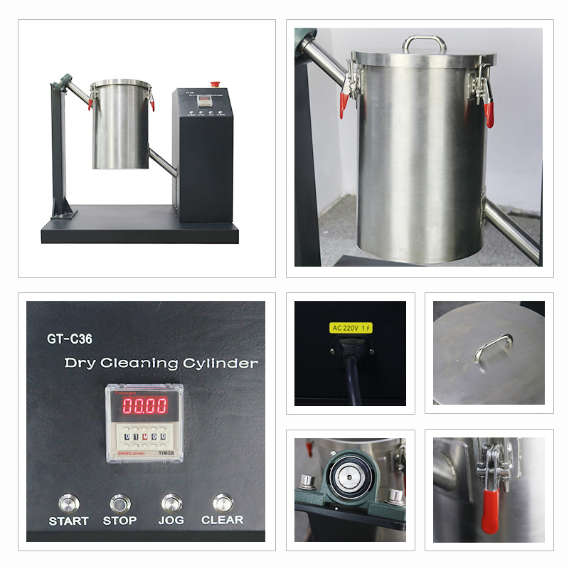 Dry Cleaning Cylinder
